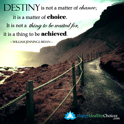 character is destiny paragraph